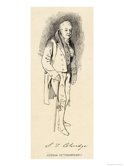 Samuel Taylor Coleridge English Poet and Critic in Old Age- Maclise-Giclee Print