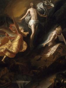 Resurrection of Christ, 1665-70 by Samuel van Hoogstraten