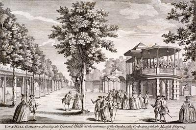 Vauxhall Gardens, Lambeth, London, C1751