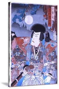 Samurai Ethics Were Portrayed in the Kabuki Theatre and in Prints Drawn from Kabuki Such as This…