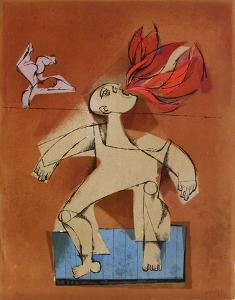 Les saltimbanques - le cracheur de feu by Samy Briss