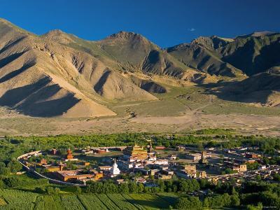 Samye Monastery, Dranang, Tibet-Michele Falzone-Photographic Print