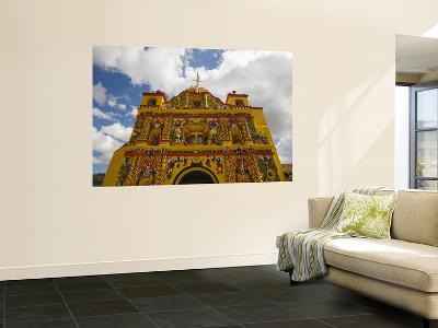 San Andres Xecul Church Front Facade-Diego Lezama-Wall Mural