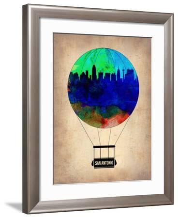 San Antonio Air Balloon-NaxArt-Framed Art Print