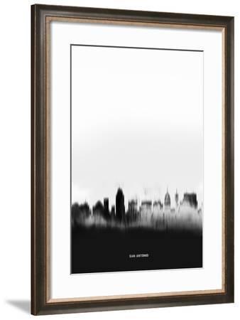 San Antonio Downtown-NaxArt-Framed Art Print