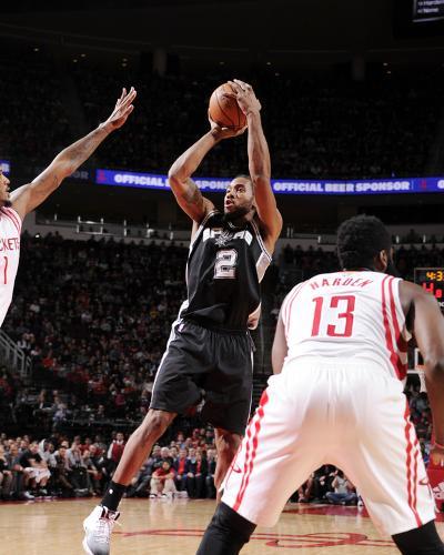 San Antonio Spurs v Houston Rockets-Bill Baptist-Photo