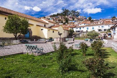 San Blas Square (Plazoleta De San Blas), Cusco, Cusco Region, Peru, South America-Matthew Williams-Ellis-Photographic Print