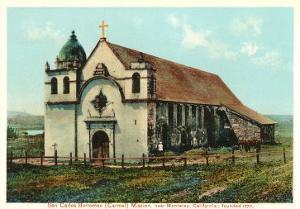 San Carlos Mission Carmel California