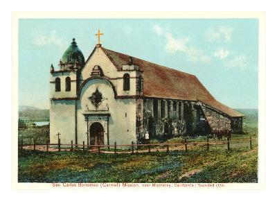 San Carlos Mission, Carmel, California--Art Print