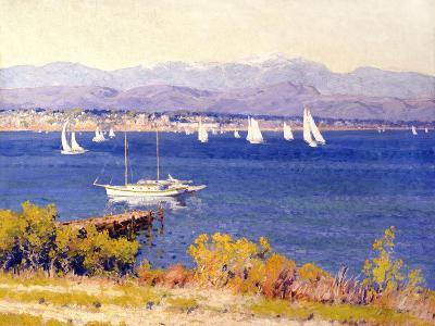 San Diego from Point Loma-Maurice Braun-Art Print