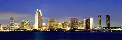 San Diego Skyline, California, USA-John Alves-Photographic Print