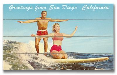 San Diego Surfer Couple