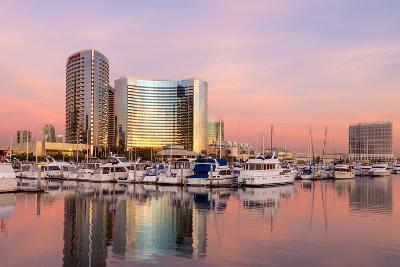 San Diego Waterfront II-Kathy Mahan-Photographic Print