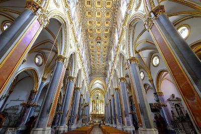 San Domenico Maggiore Church, Naples, Campania, Italy, Europe-Carlo Morucchio-Photographic Print