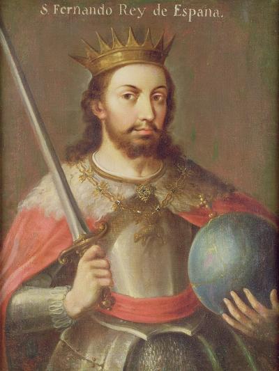 San Fernando, King of Spain, C.1650--Giclee Print