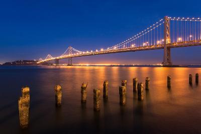 San Francisco Bay Bridge-nstanev-Photographic Print