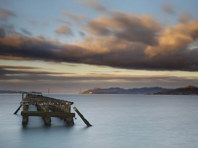San Francisco Bay with Angel Island, the Presidio, Alcatraz, and the Golden Gate Bridge-Patrick Smith-Photographic Print