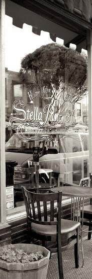 San Francisco Cafe Pano #3-Alan Blaustein-Photographic Print