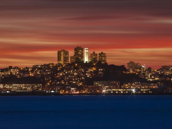 San Francisco, California-Joe Azure-Photographic Print