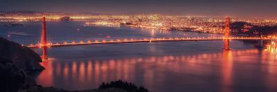 San Francisco Cityscape from the Marin Headlands-Vincent James-Photographic Print