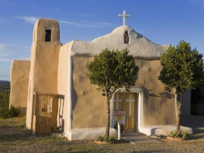 San Francisco De Asis Church Dating from 1835, Golden, New Mexico, United States of America, North -Richard Cummins-Photographic Print
