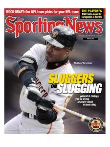 San Francisco Giants OF Barry Bonds - April 23, 2001