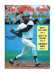 San Francisco Giants OF Willie McCovey - August 9, 1969
