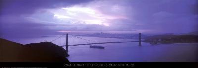 San Francisco - Golden Gate Bridge-Walter Bibikow-Art Print