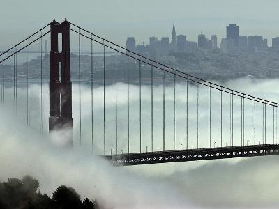 San Francisco Golden Gate Bridge-Paul Sakuma-Photographic Print