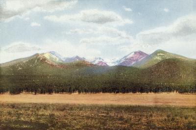 San Francisco Mountains, Arizona--Photographic Print