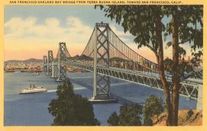 San Francisco-Oakland Bay Bridge, California