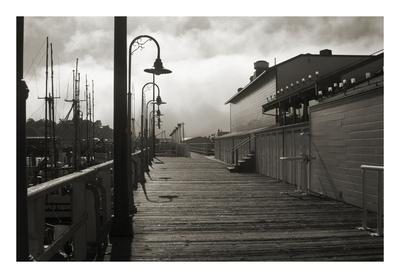 San Francisco Pier with Incoming Fog Giclee Print by Christian Peacock |  Art com