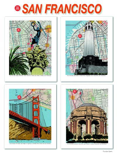 San Francisco Poster--Art Print