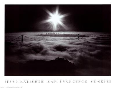 San Francisco Sunrise-Jesse Kalisher-Art Print