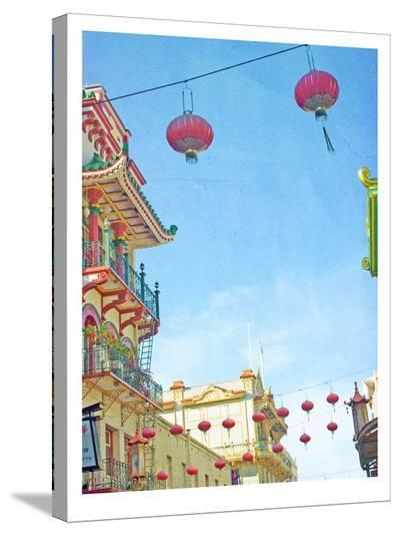 San Francisco Tops3-Mina Teslaru-Stretched Canvas Print