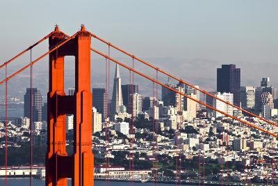 San Francisco with the Golden Gate Bridge-kropic-Photographic Print