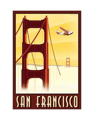 San Francisco-Steve Forney-Art Print