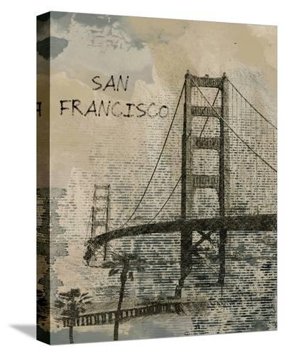San Francisco--Stretched Canvas Print