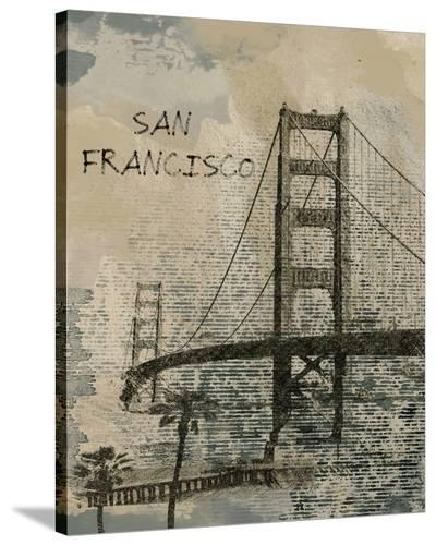 San Francisco--Stretched Canvas Print