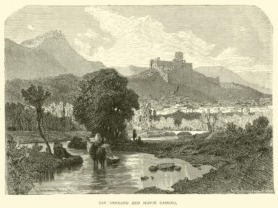 San Germano and Monte Cassino--Giclee Print