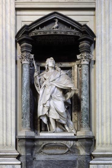 San Giacomo Maggiore, Marble Statue--Giclee Print
