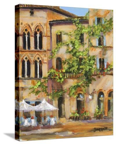 San Gimignano-Jan E. Moffatt-Stretched Canvas Print