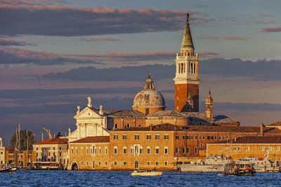San Giorgio Maggiore at Sunset Viewed from Giudecca, Venice, Veneto, Italy.-Cahir Davitt-Photographic Print