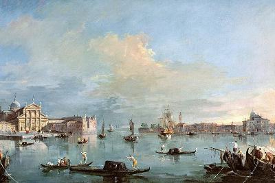 San Giorgio Maggiore-Francesco Guardi-Giclee Print