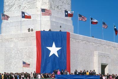 San Jacinto Celebration, Houston, Texas--Photographic Print