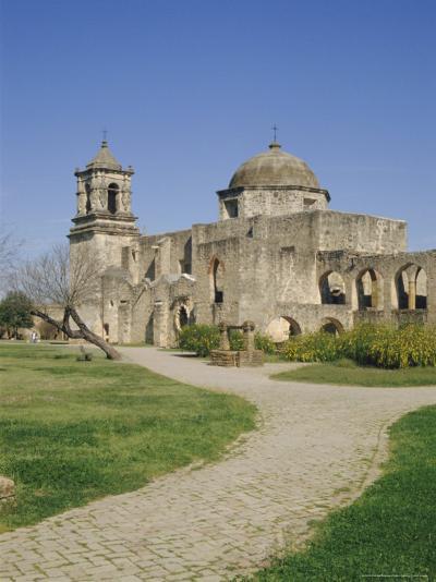 San Jose Mission, San Antonio, Texas, USA-Charles Bowman-Photographic Print
