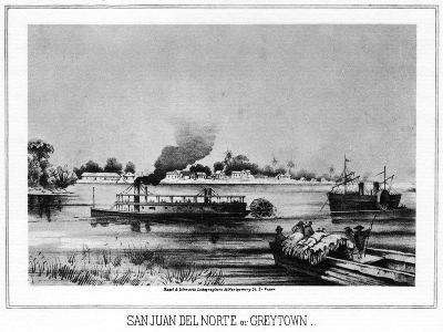 San Juan Del Norte (Greytow), California, 19th Century- Nagel & Schwartz-Giclee Print