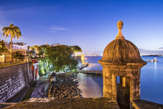 San Juan Puerto Rico Coast At Paseo De La Princesa Photographic Print Seanpavonephoto Art Com