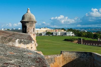 San Juan Scenic View from El Morro Fort-George Oze-Photographic Print