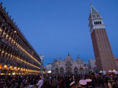 San Marco Square During Carnival, Venice, UNESCO World Heritage Site, Veneto, Italy, Europe-Carlo Morucchio-Photographic Print